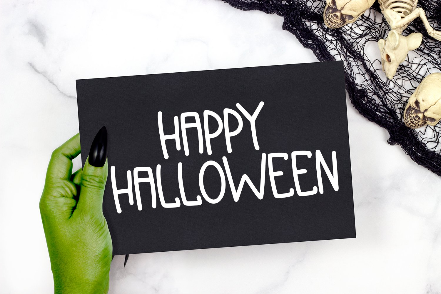 Spooky Squad - A Hand-Lettered Halloween Font example image 3