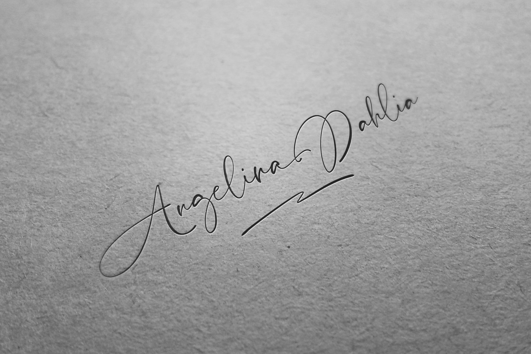 Pardone   Luxury Signature Font example image 9