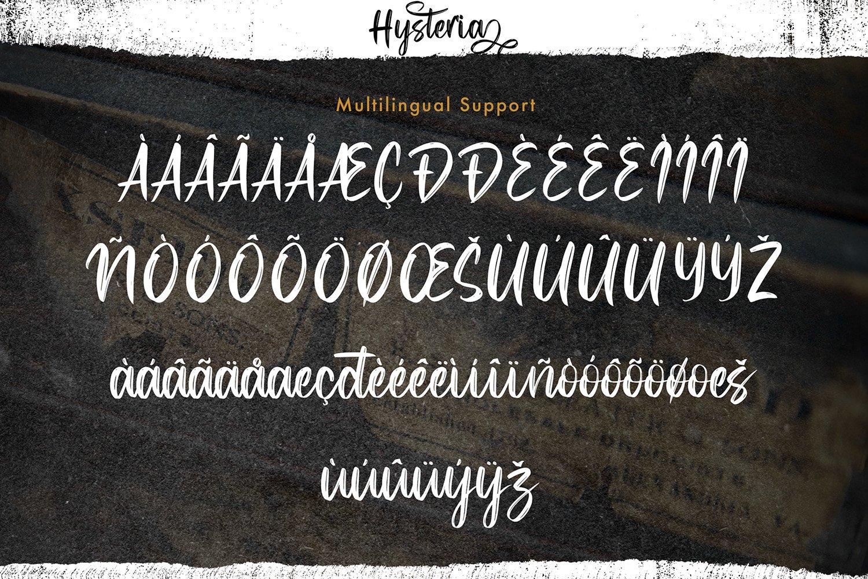 Hysteria - Stylish Script Font example image 7