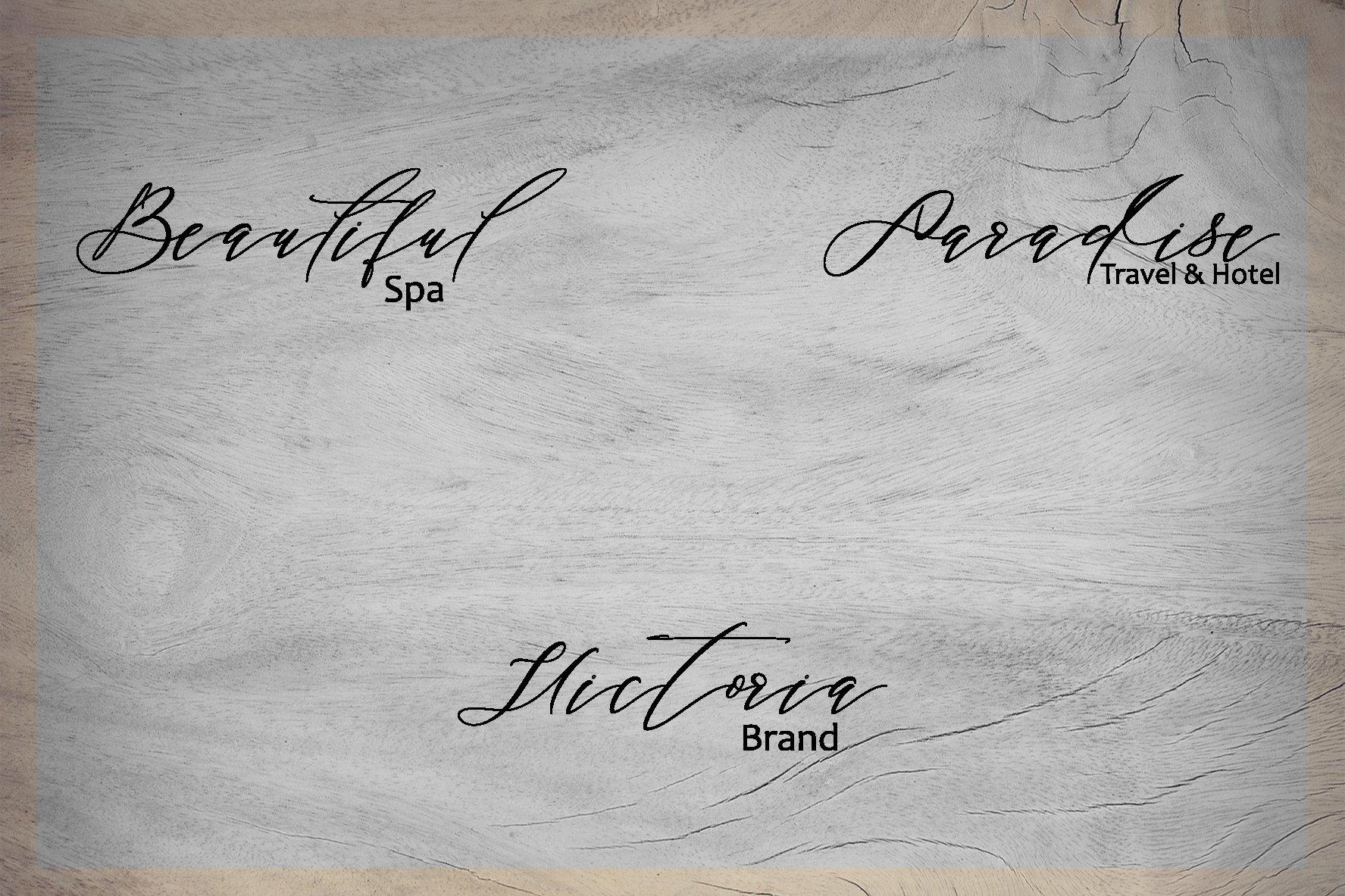 Black Thise Script example image 4