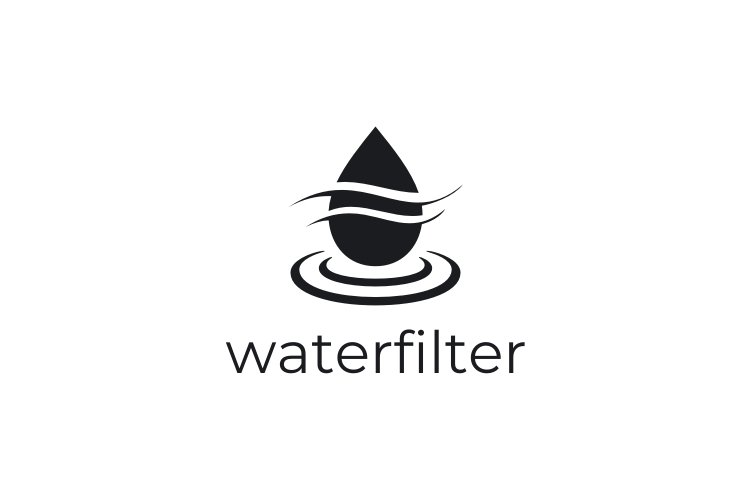 Water Filter Logo example image 2