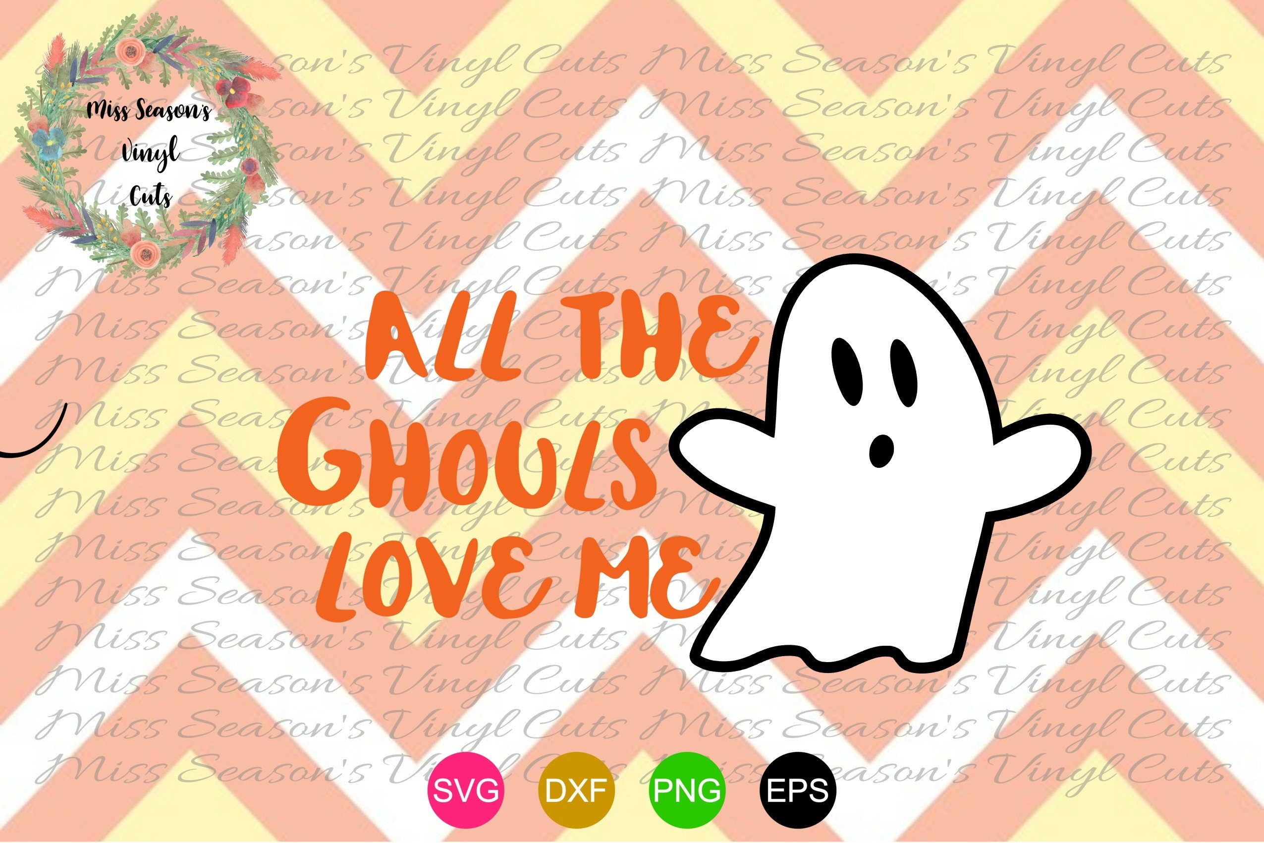 All The Ghouls Love Me Svg Dxf Eps Png 316099 Cut Files Design Bundles