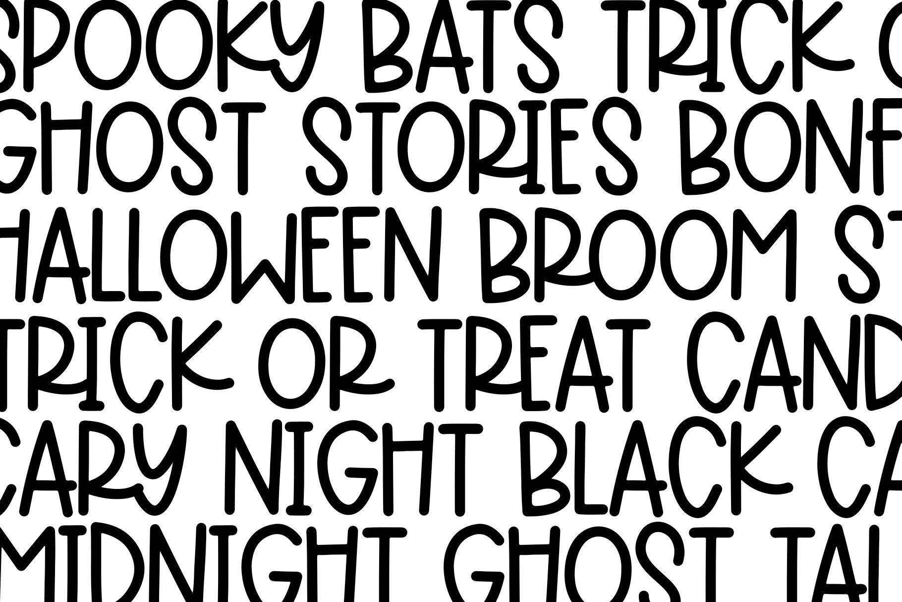 October Dream - A Fun Handwritten Font example image 9