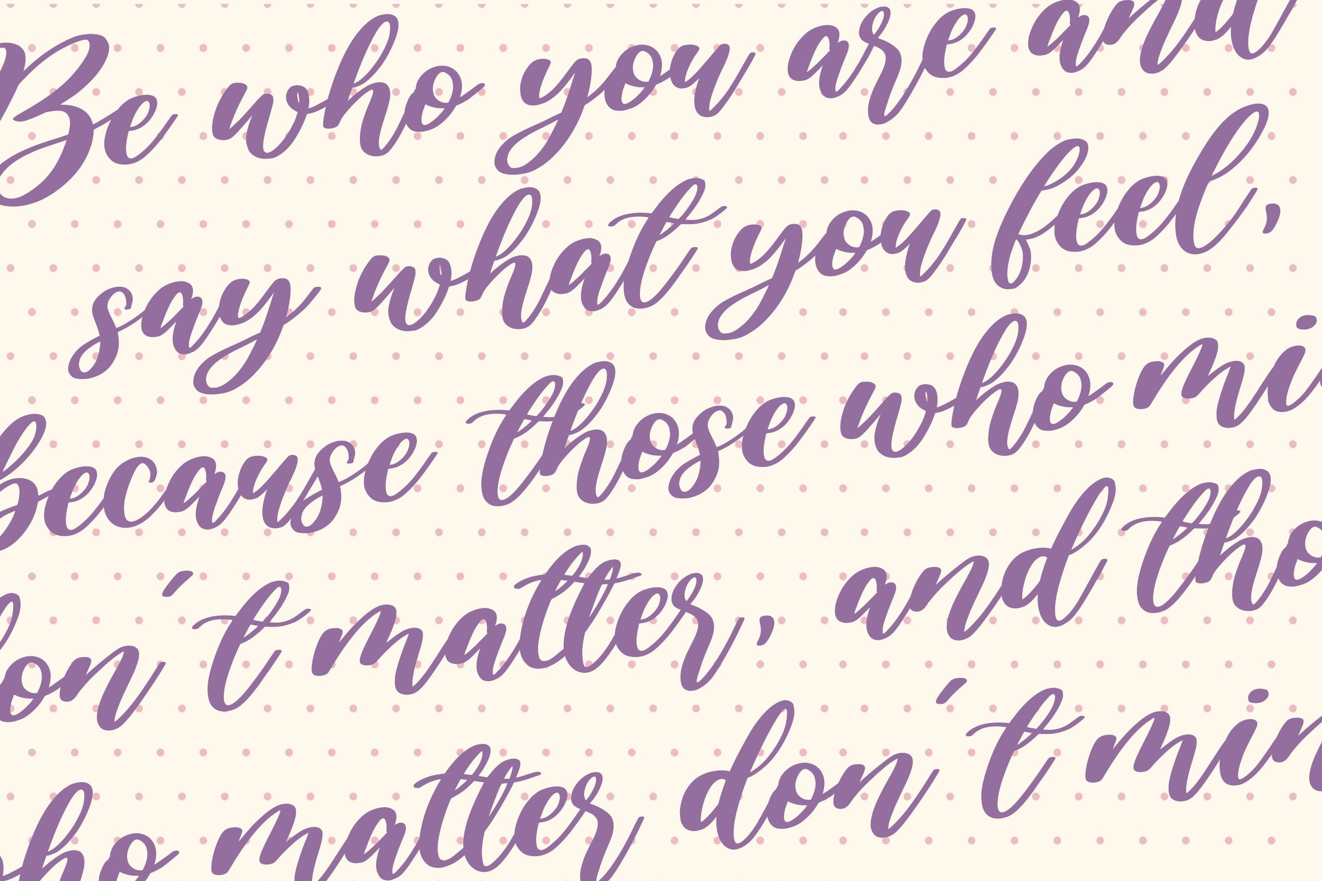 Amarila Lovely Handwritten Font example image 7
