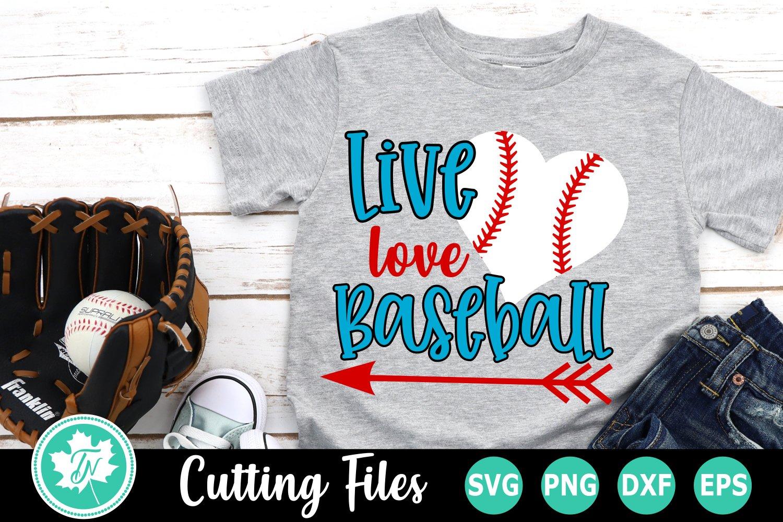 Download Live Love Baseball A Sports Svg Cut File 246806 Cut Files Design Bundles