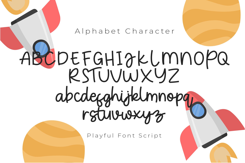 New Rocket Playful Font Script example image 3
