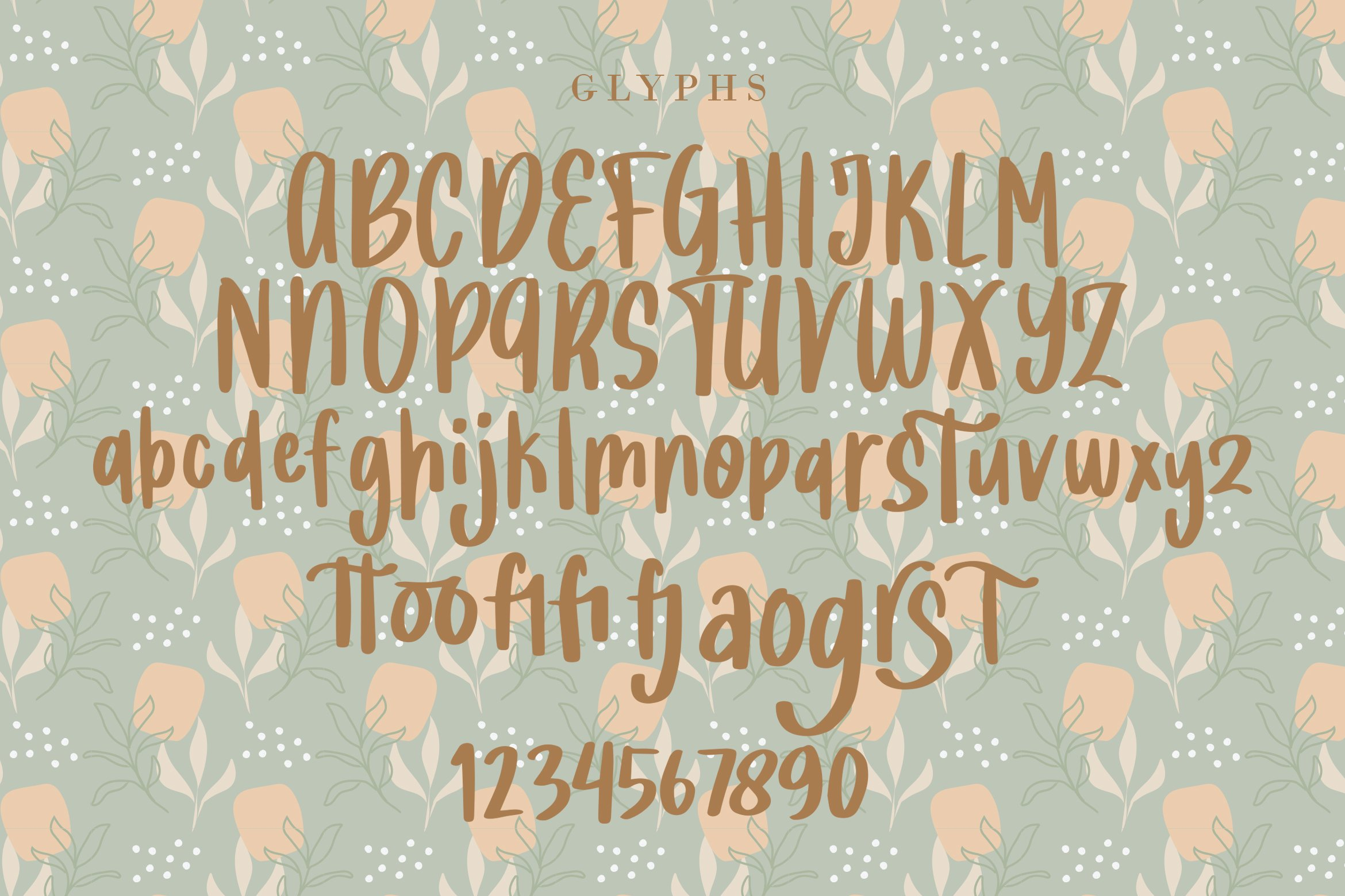 Justina - Handwritten Fonts example image 5