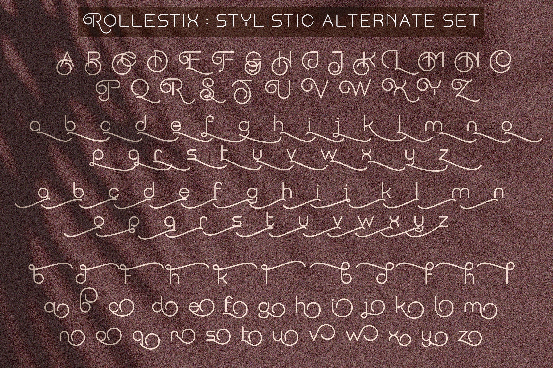 Rollestix - Rounded & Elegant sans serif example image 6