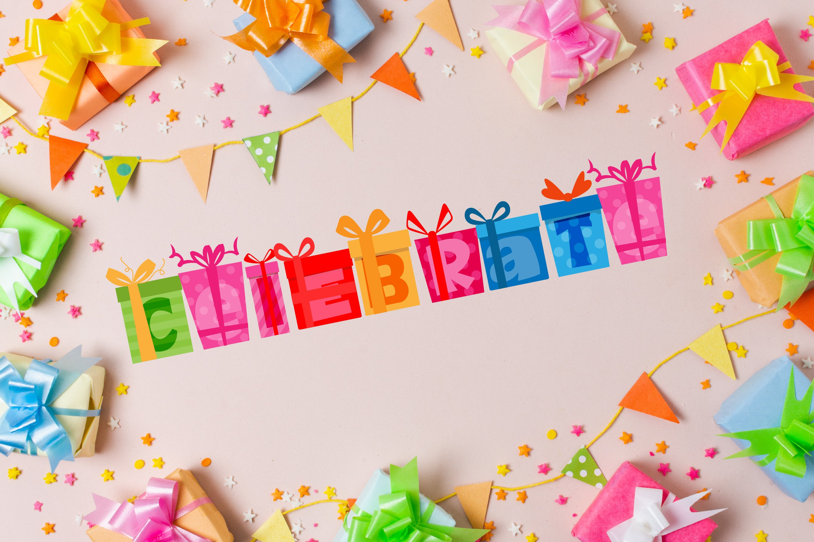 Birthday SVG Font Duo example image 14