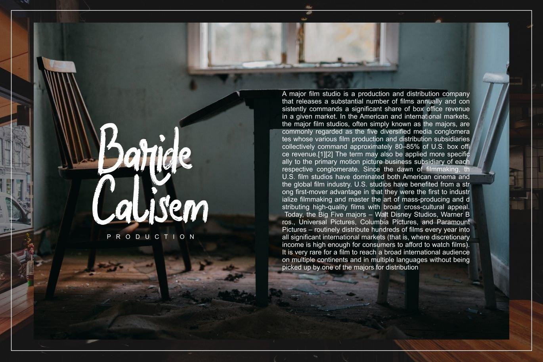 Halybed   Grunge Typeface Font example image 3