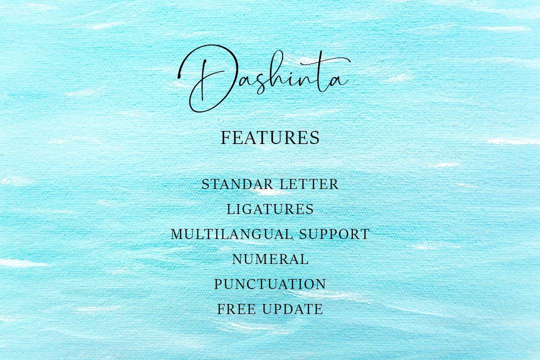 Dashinta - Lovely Handwritten Font example image 8