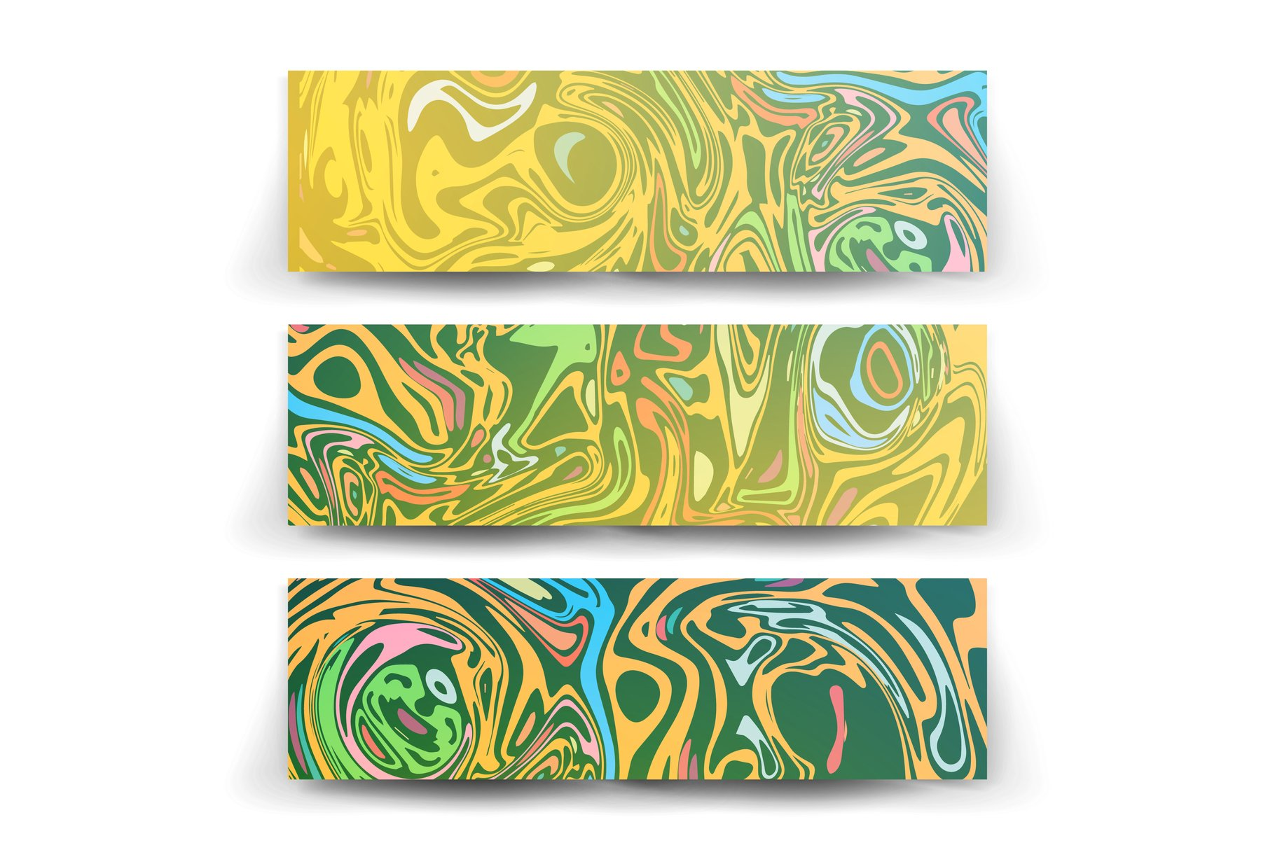 Craft Liquid Texture Vector. example image 1