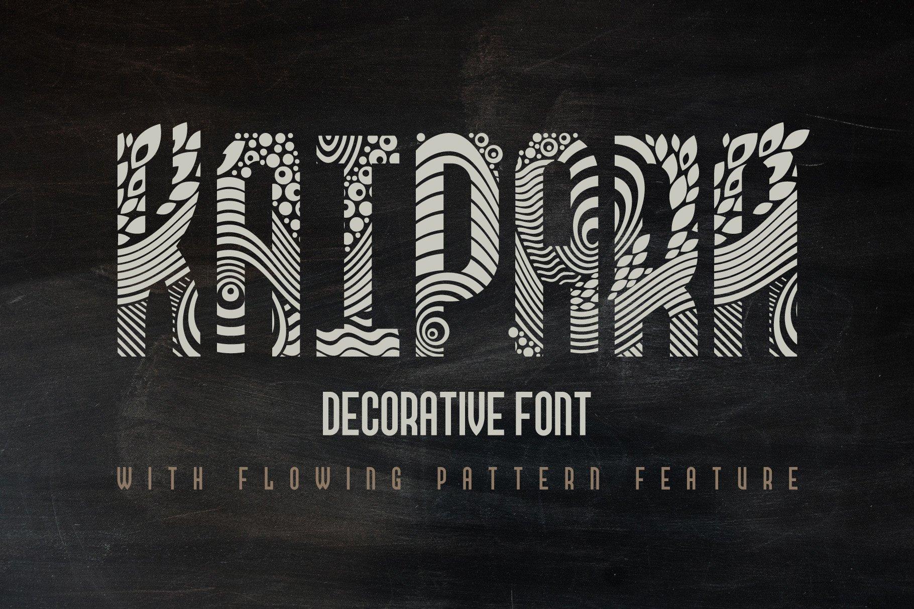 Kaipara Font example image 1