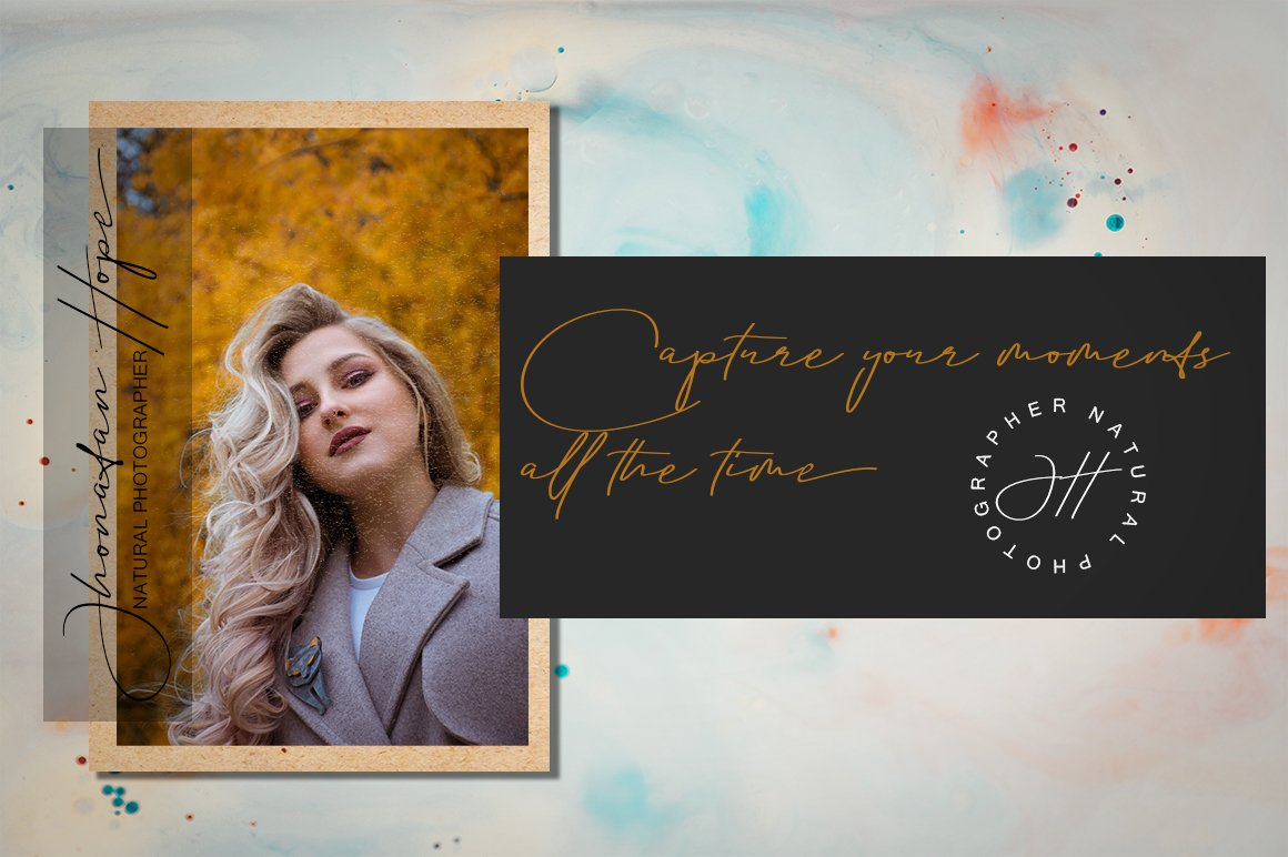 Aletheia | A Handwritten Signature Font example image 5