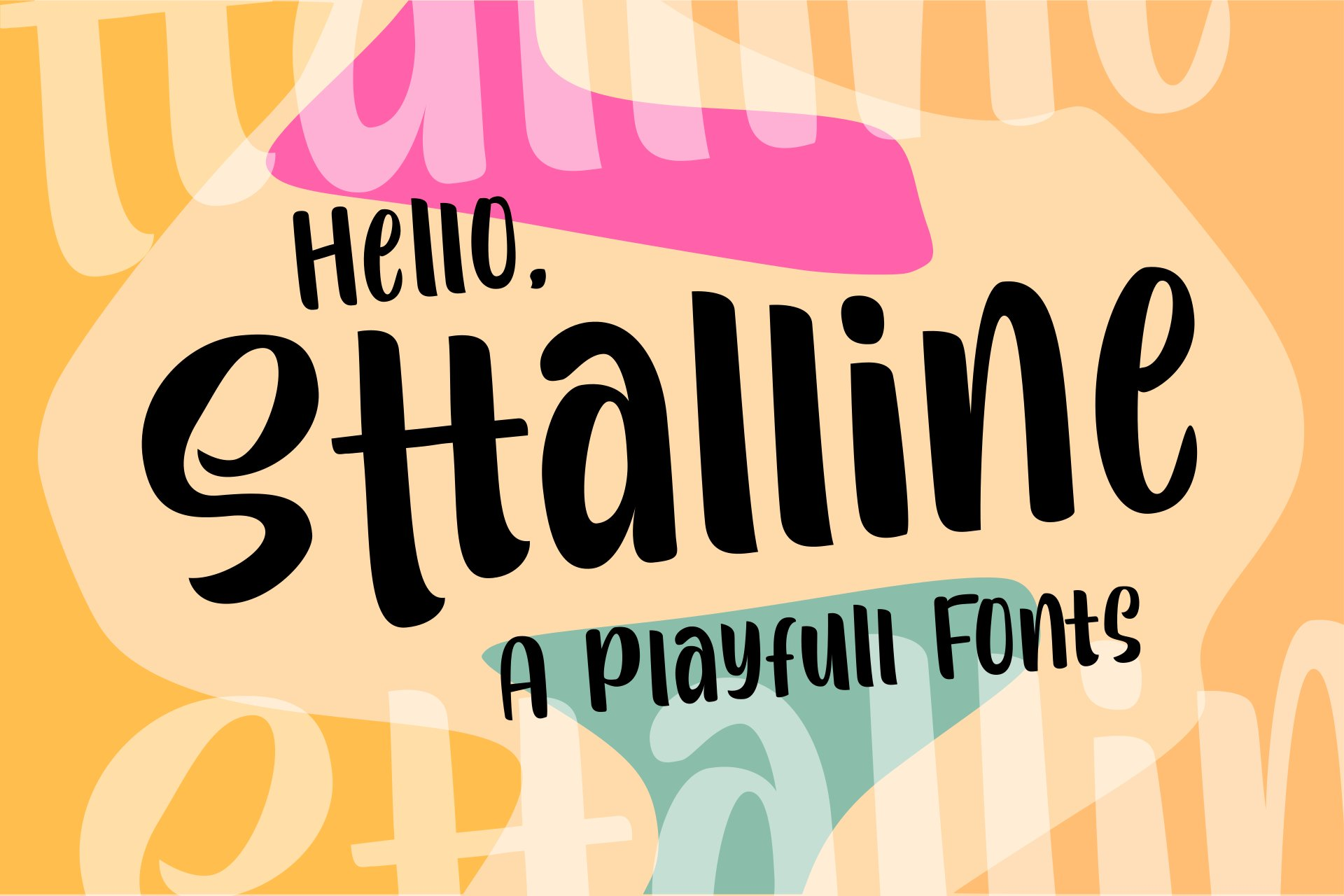 Sttalline | Quirky Fonts example image 1