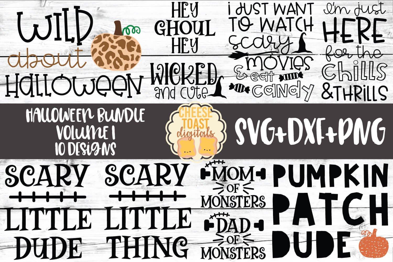 Halloween Bundle Vol 1 Fall Svg Png Dxf Cut Files 306485 Cut Files Design Bundles