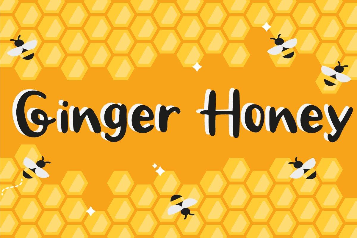 Ginger Honey -Handwritten Script font example image 1