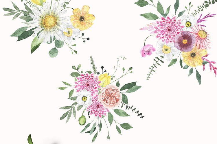 Summer Floral Fields collection example image 11