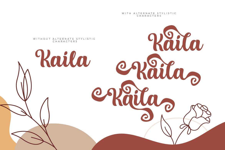 Kaila Script example image 5