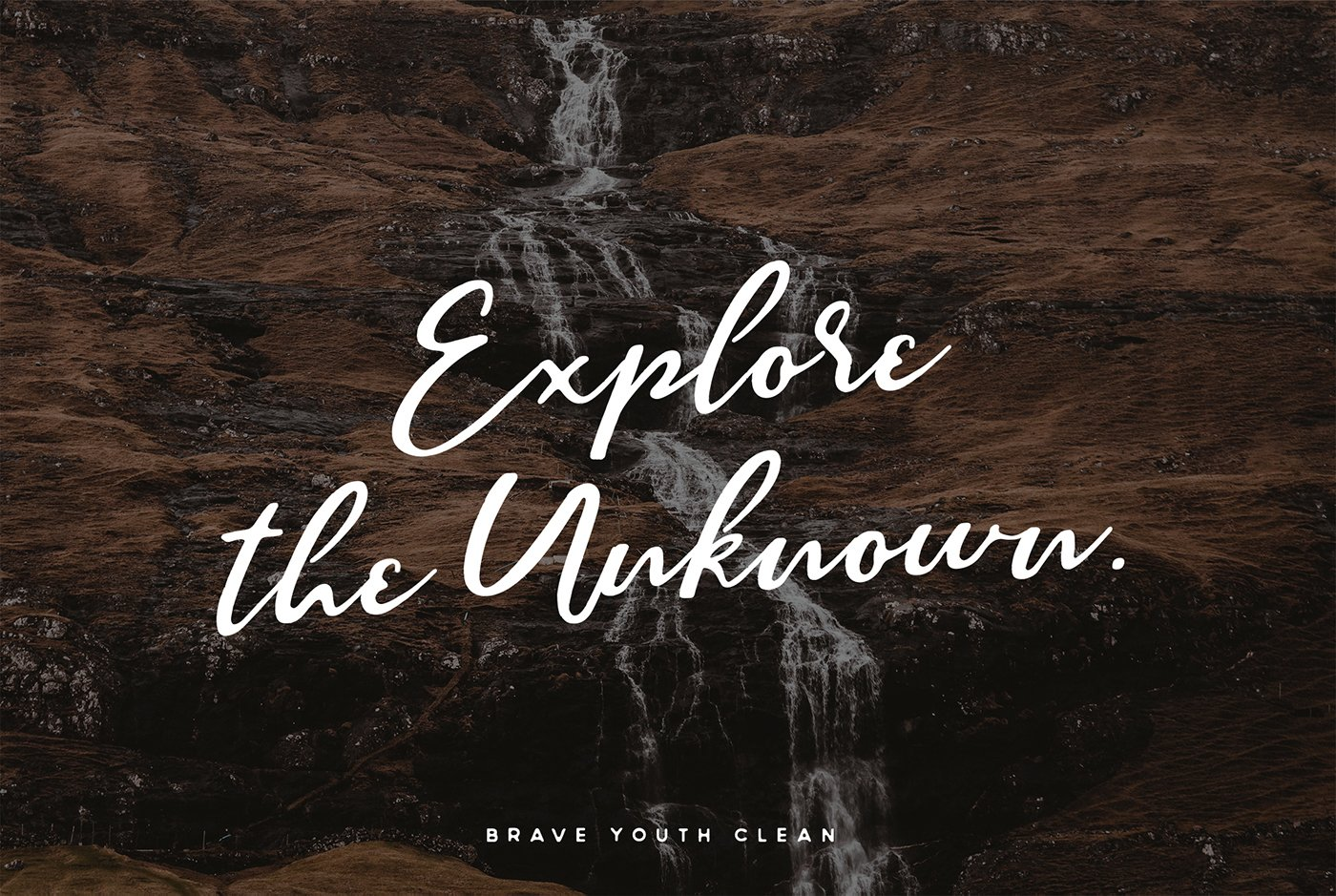 Brave Youth Script Typeface example image 3