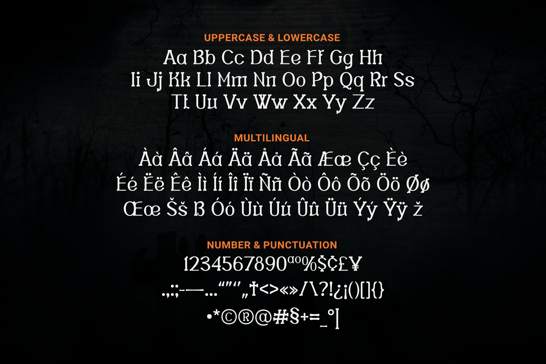 Nankins Font example image 2
