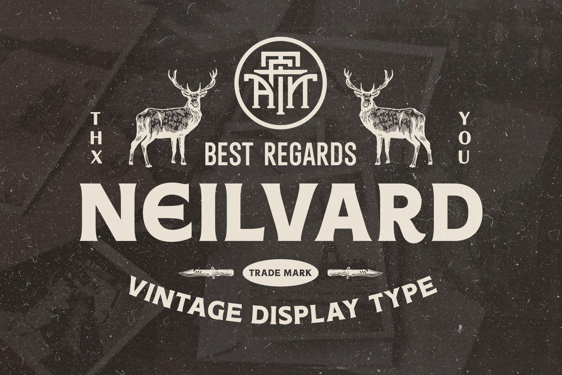 Neilvard - Font Set example image 12