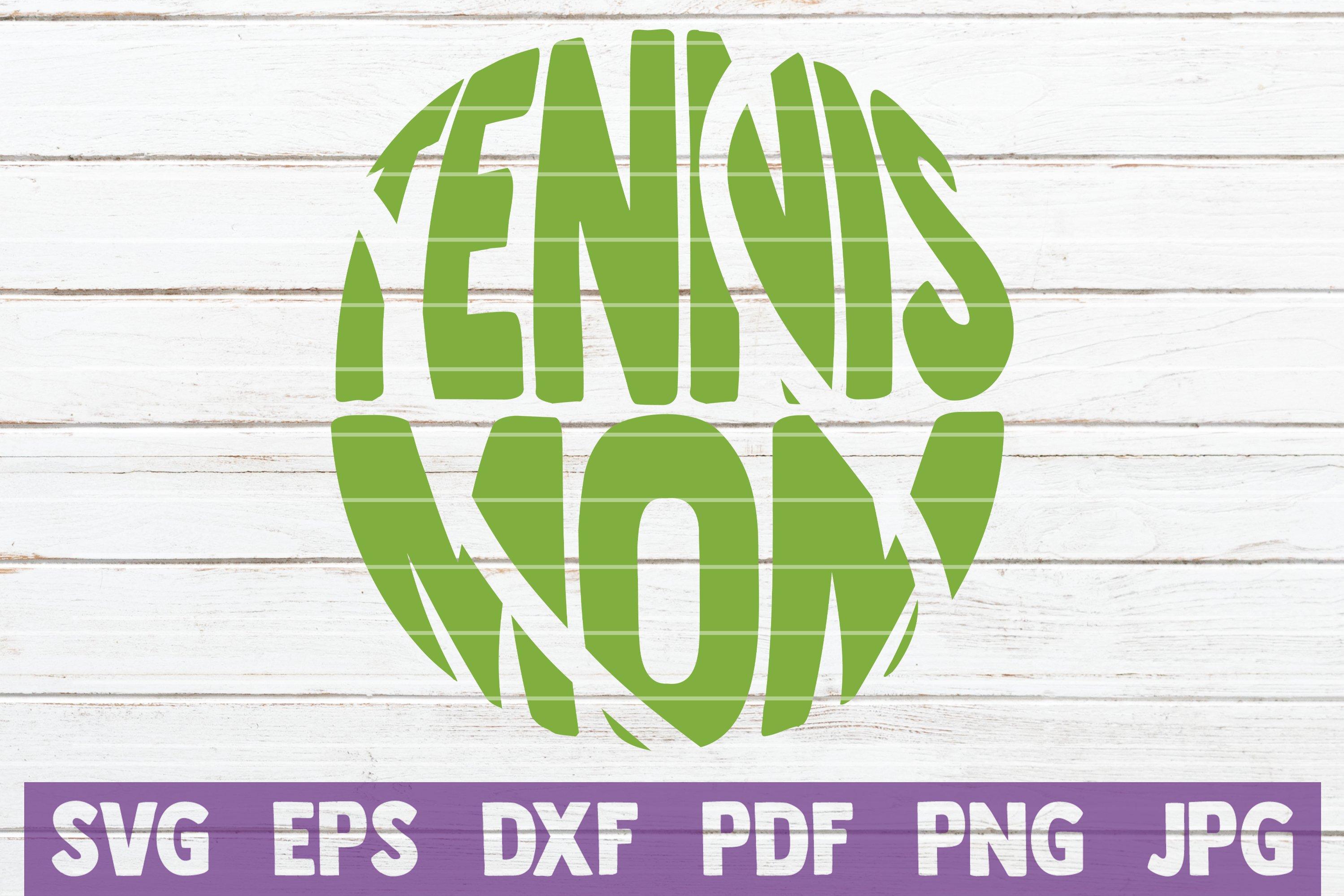 Tennis SVG Bundle | Tennis Mom SVG Cut Files example image 23