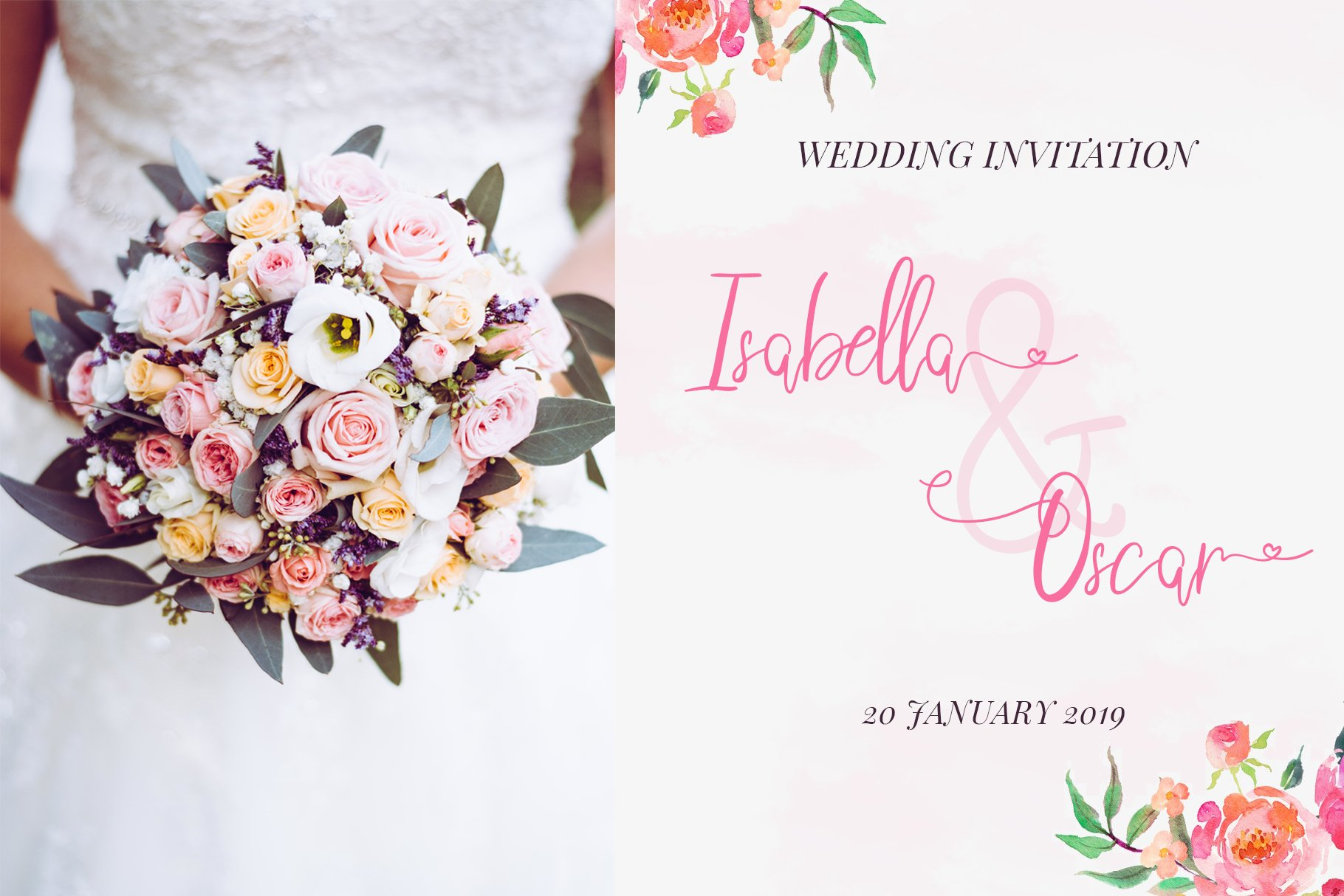 Sweetheart Lovely Calligraphy Font example image 6
