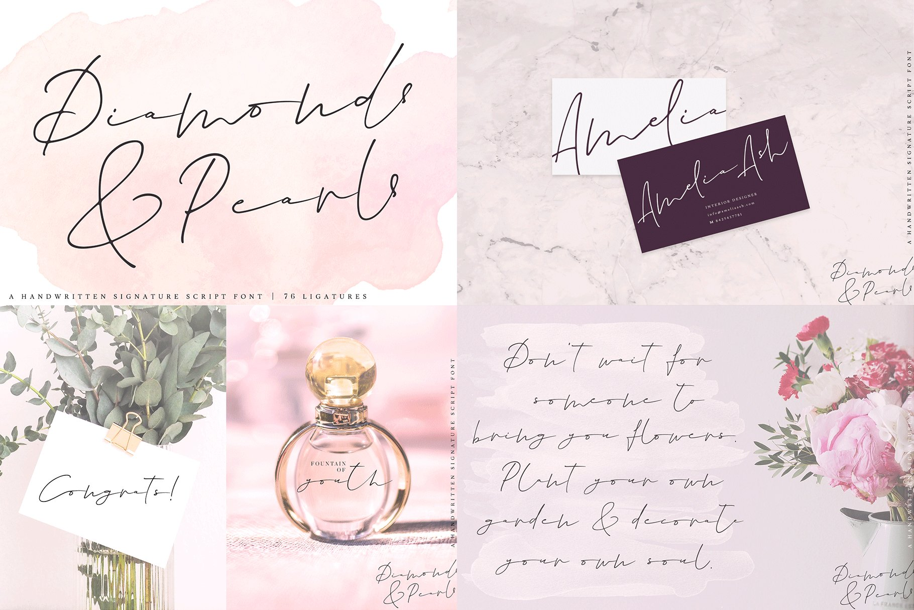 The Hand Lettered Font Bundle example image 9
