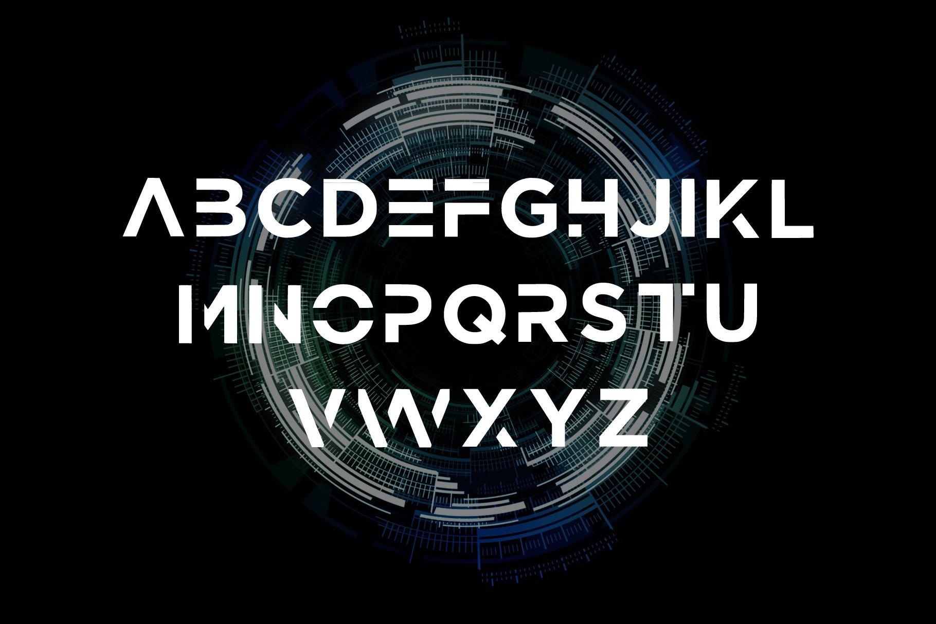 Prime - modern bold Sans Serif Font example image 3