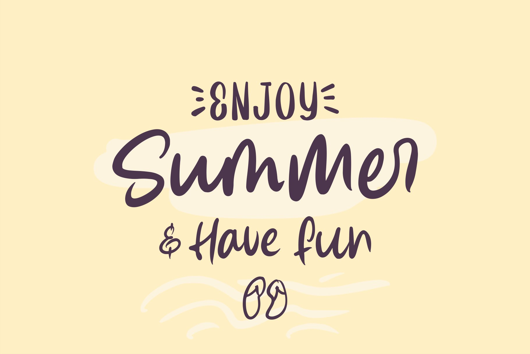Summer Lovers with Alternate and Dingbat example image 7