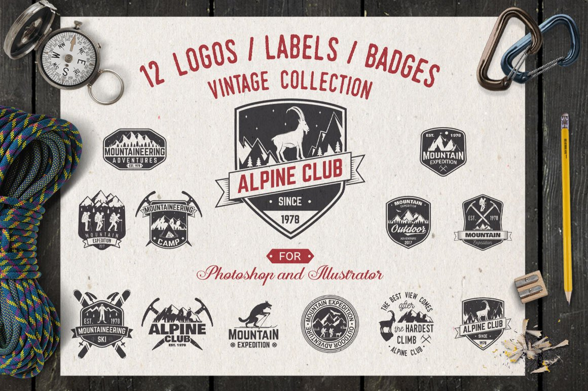 Alpine Club Vintage Collection example image 1