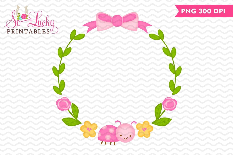 Spring Wreath Printable Sublimation Design 524666 Sublimation Design Bundles