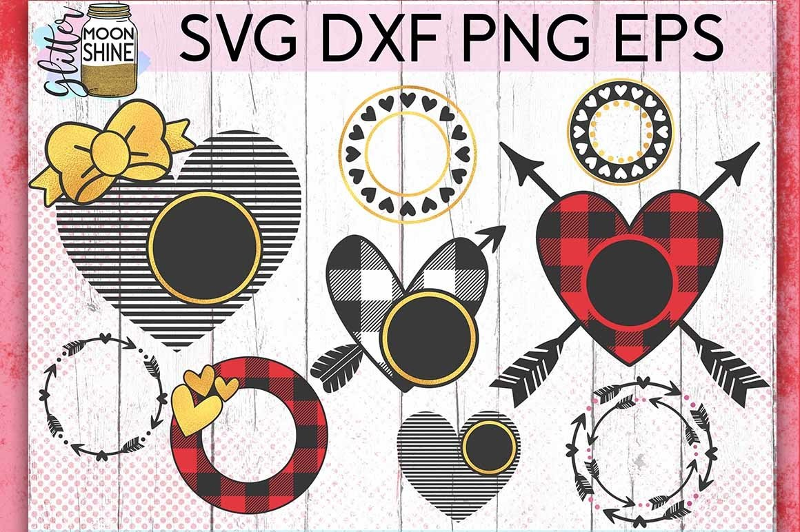 Valentine S Day Bundle Of 60 Svg Dxf Png Eps Cutting Files 179899 Cut Files Design Bundles