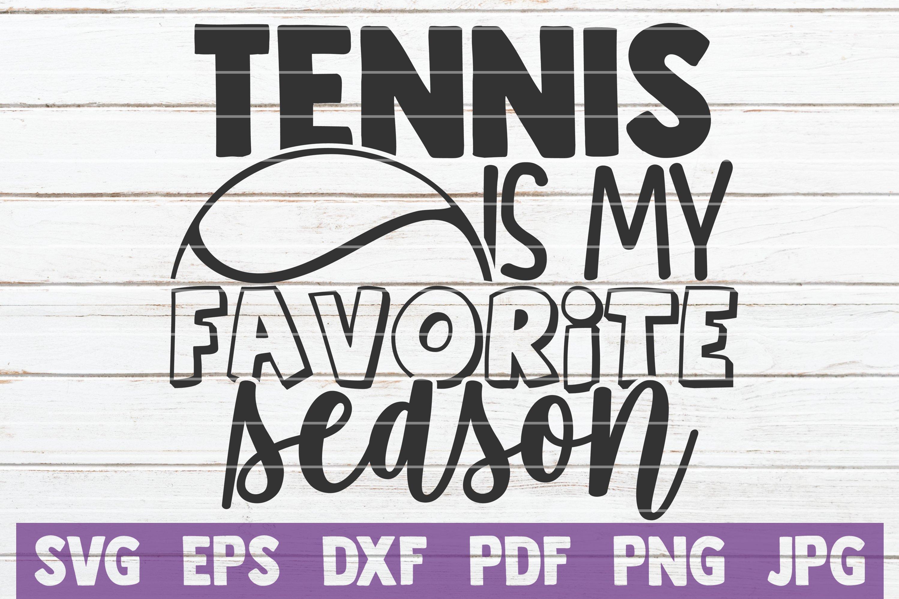 Tennis SVG Bundle | Tennis Mom SVG Cut Files example image 21