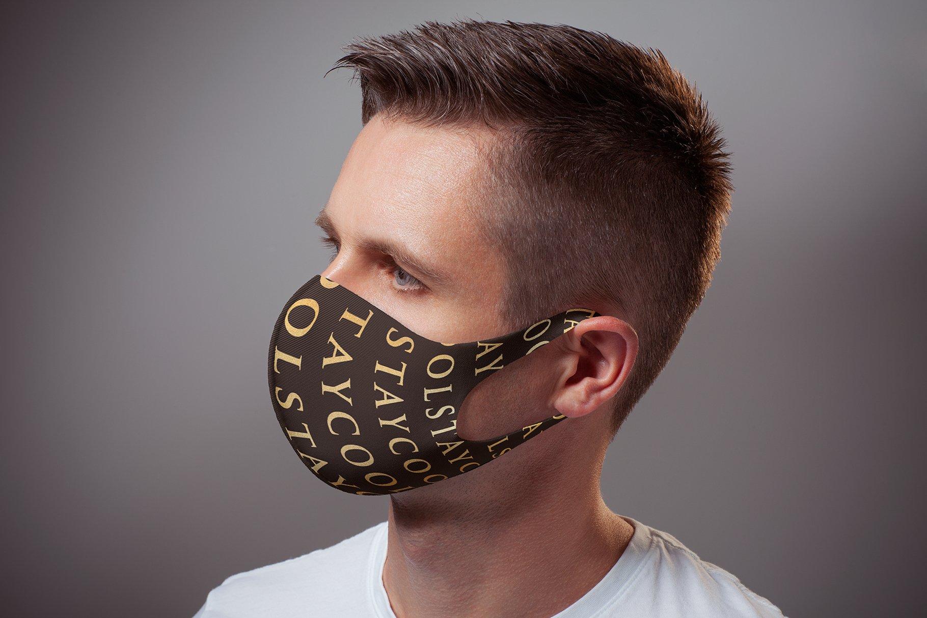 Face Mask Mock-up example image 5