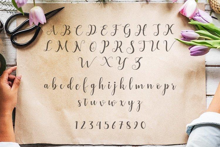 Web Font Alyshia Script example image 2