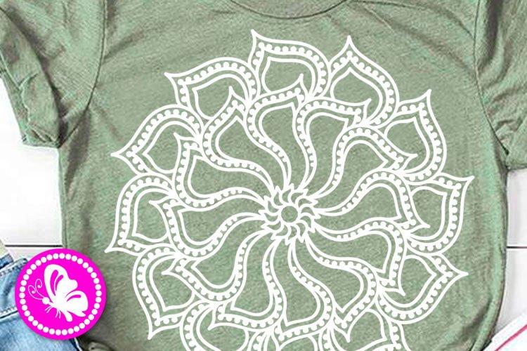 lotus Mandala svg Indian Yoga flowers Meditation Namaste png example image 1