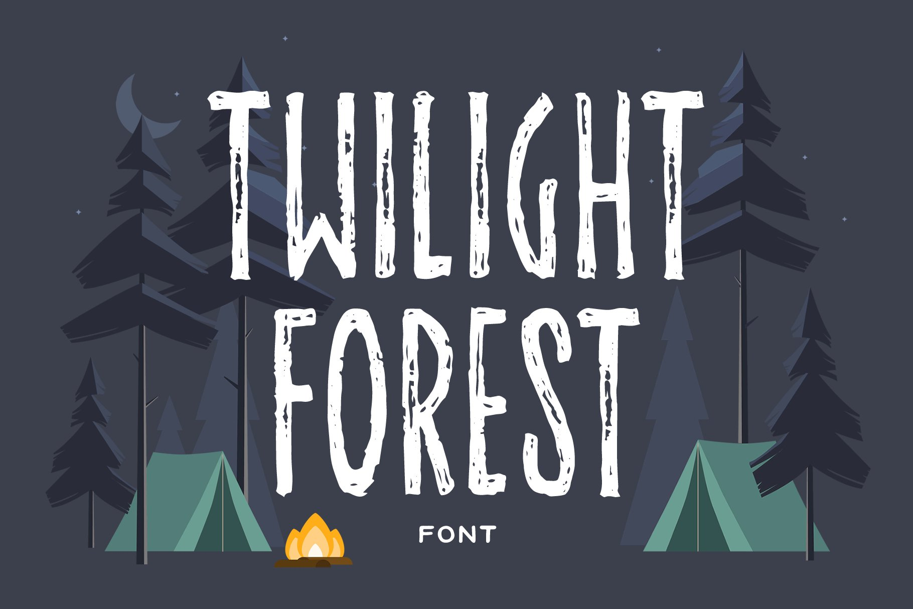 Summer Nights Font Trio example image 4