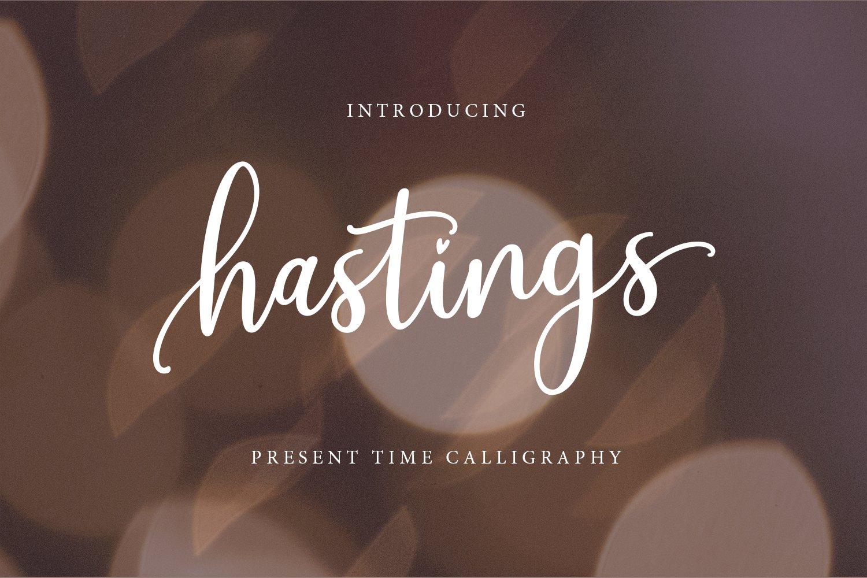 Hastings Script example image 1