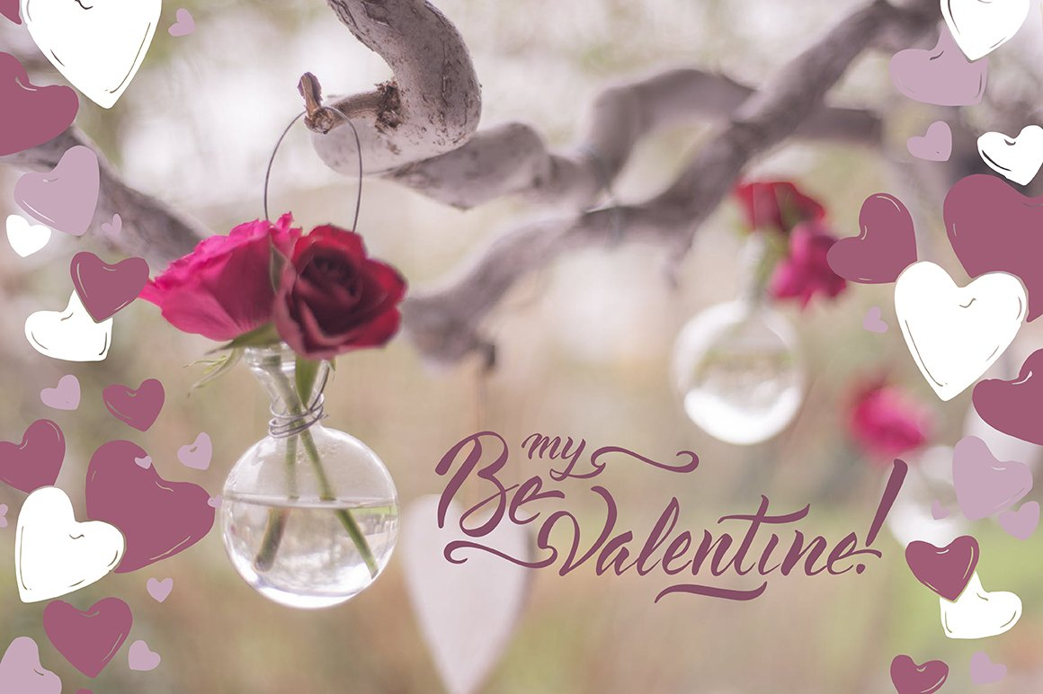 6 Romantic cards and lettering example image 4