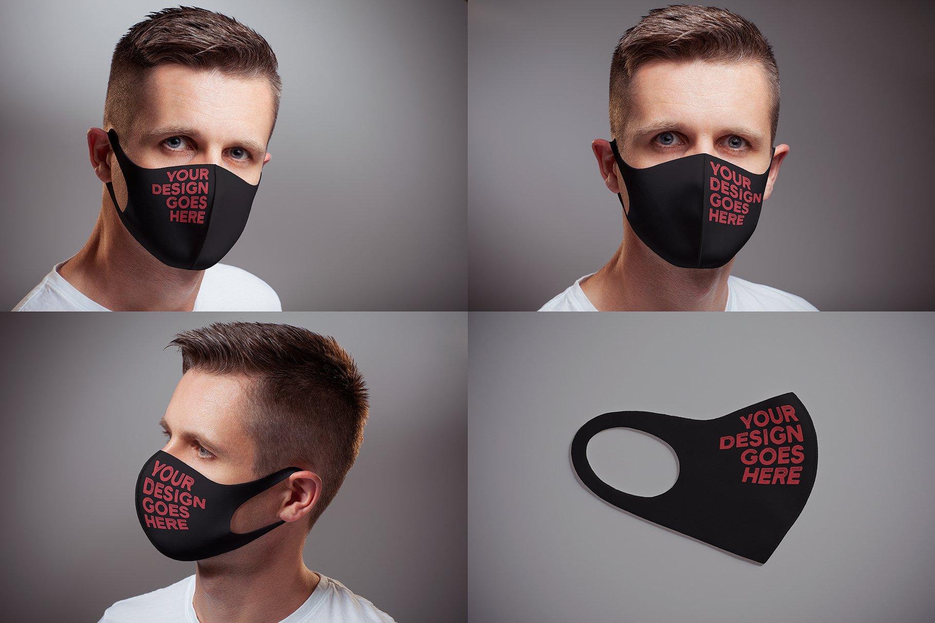 Face Mask Mock-up example image 3