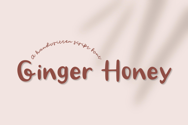 Ginger Honey -Handwritten Script font example image 9