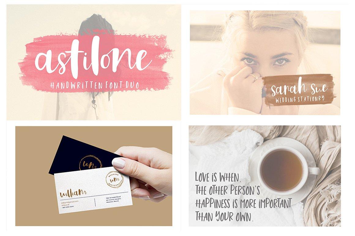 Handlettered Font Bundle example image 4