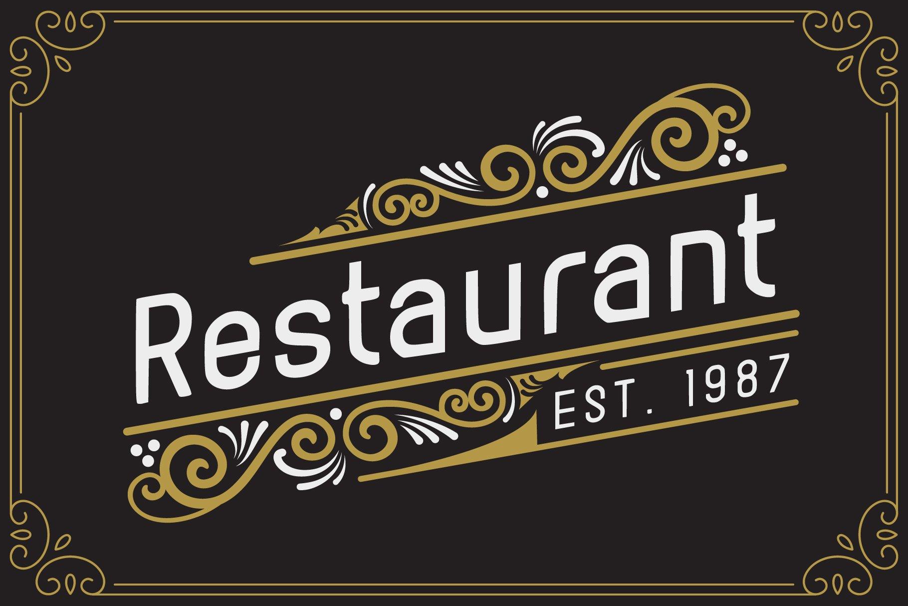 Rolando Vintage Font example image 3