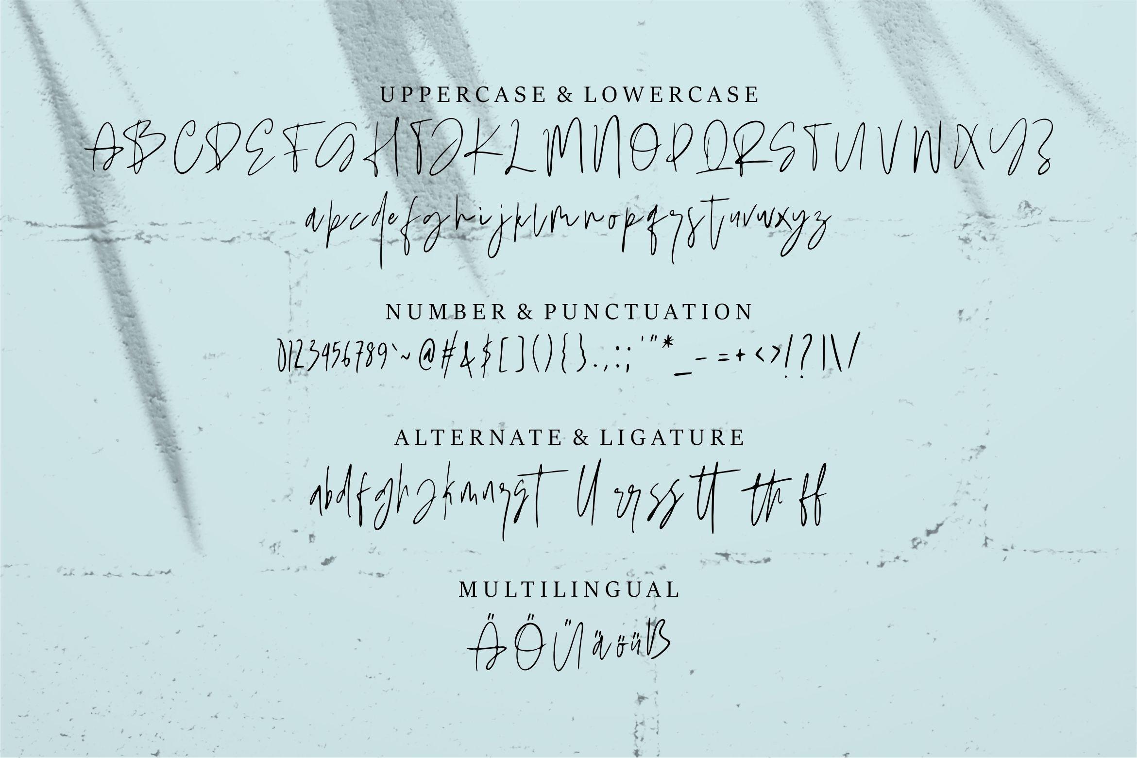 Roshbella - Beauty Handwritten Font example image 6