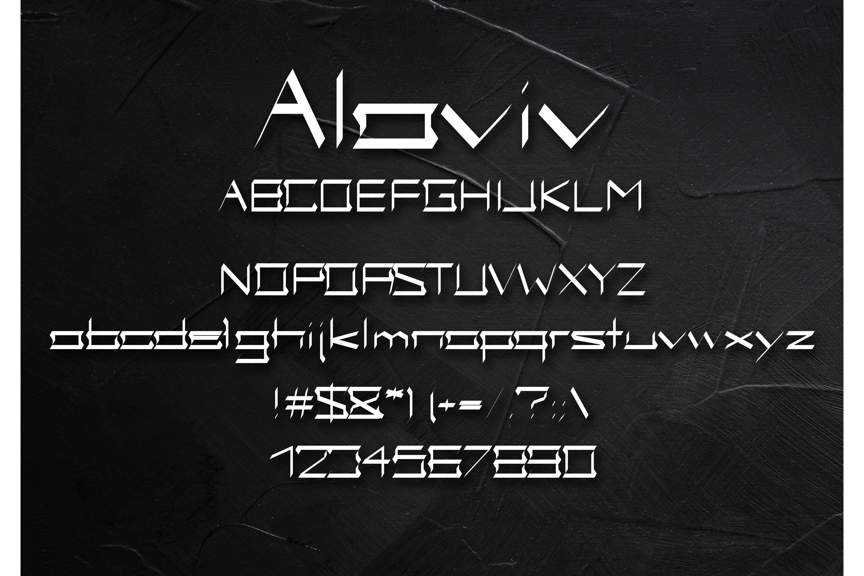 Alaviv Gothic Font example image 2