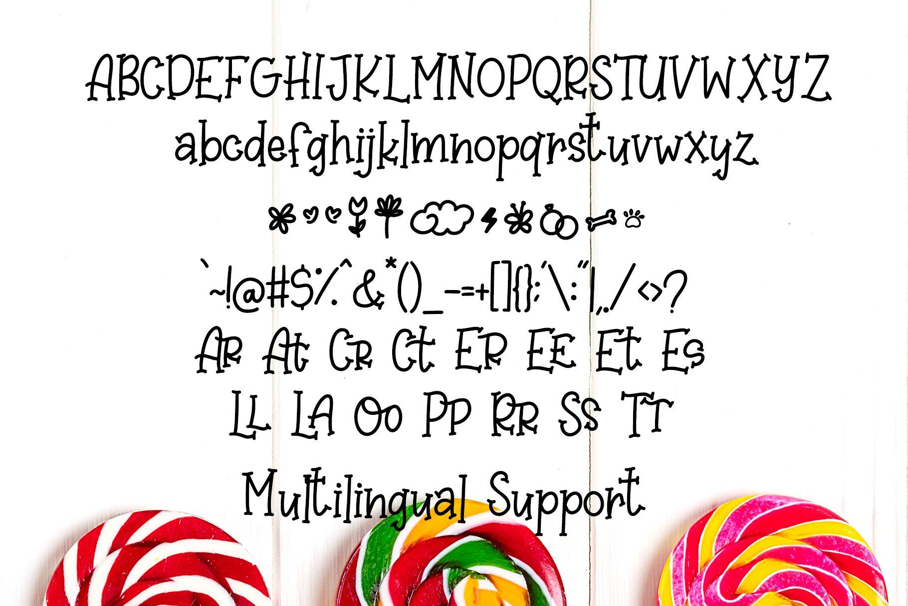 Sweet Lollipop - Fun Handwritten Font example image 7