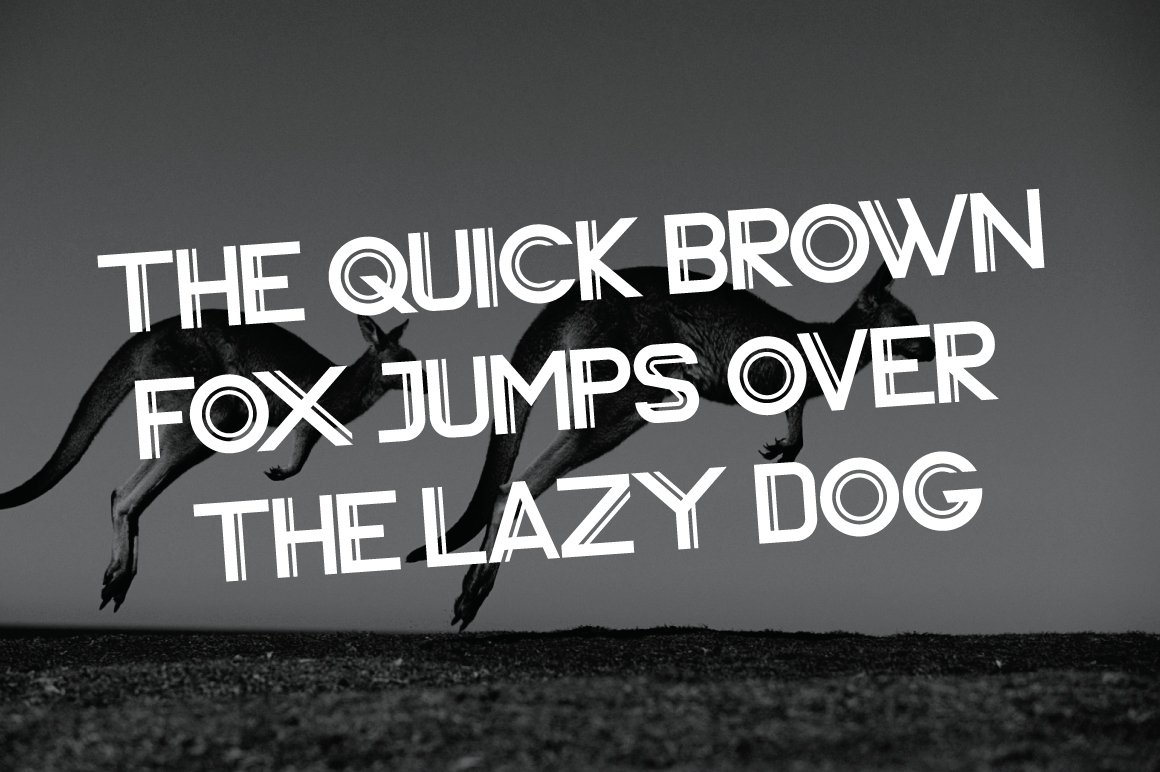 Vardy Display Typeface example image 5