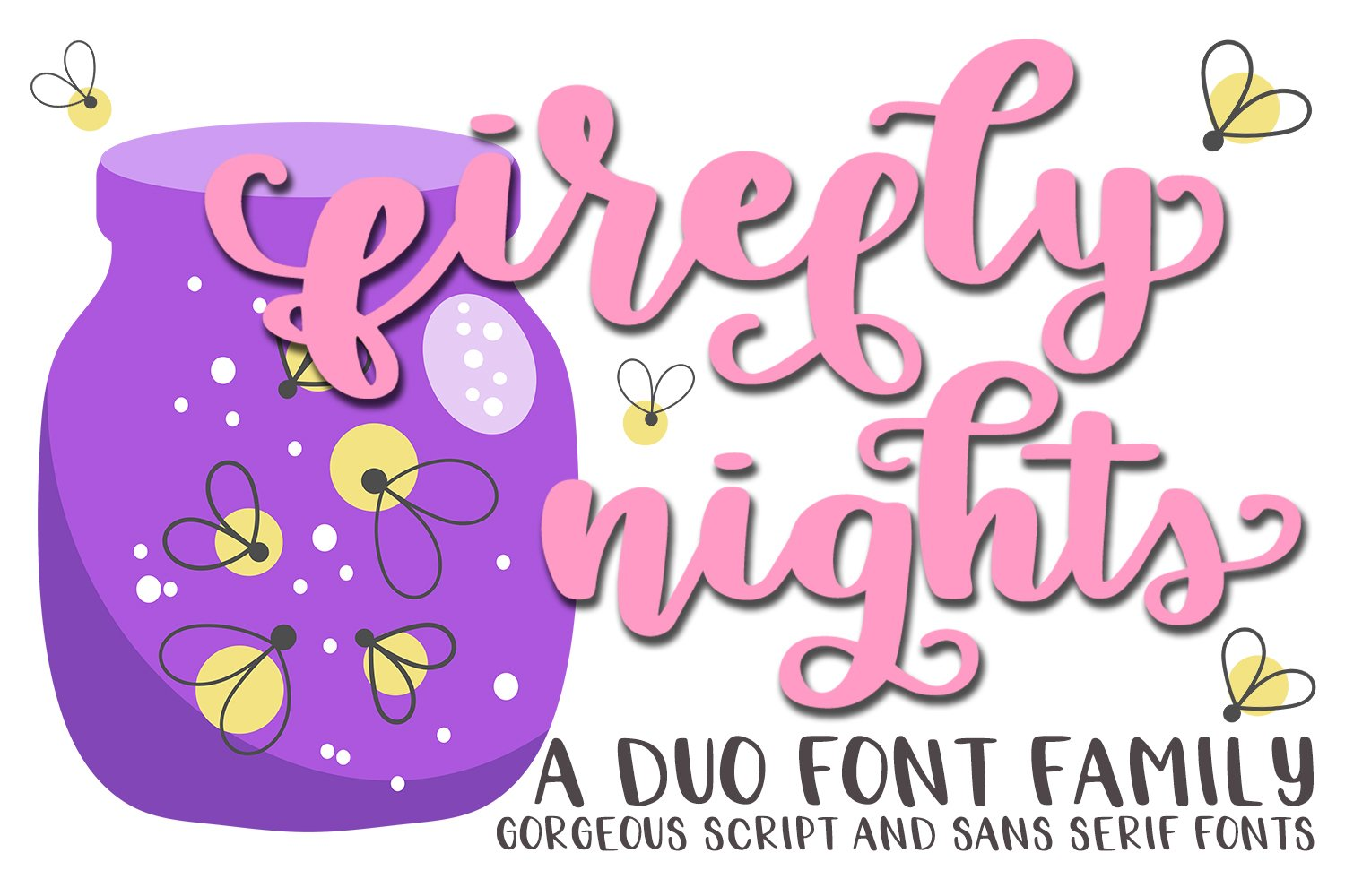The 'Popular Fonts' Bundle - 10 font families! example image 5